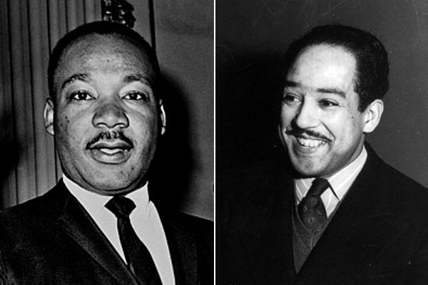Martin Luther King Jr.'s dream – which alternated between shattered and hopeful – can be traced back to Langston Hughes' poetry.