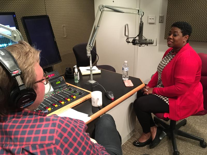 Project LIFT Superintendent Denise Watts speaks with WFAE's Marshall Terry.