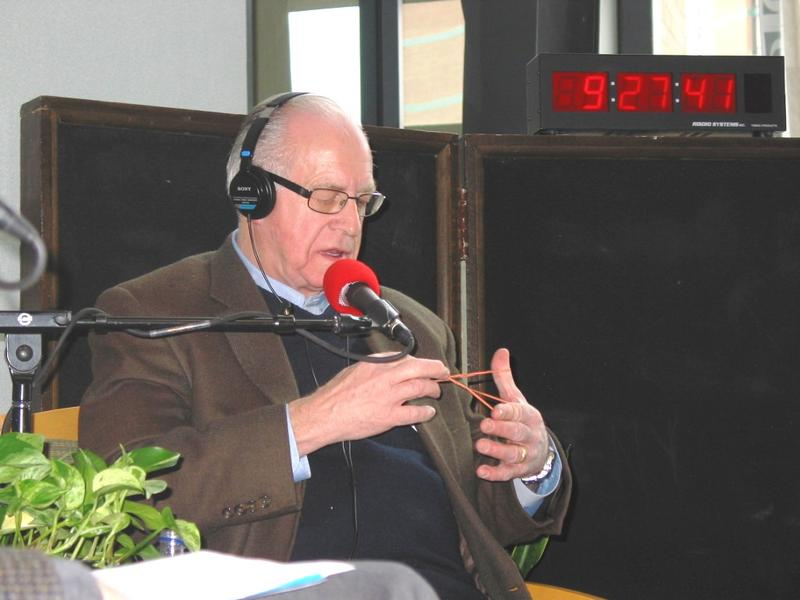 Carl Kasell on Charlotte Talks in January 2005.