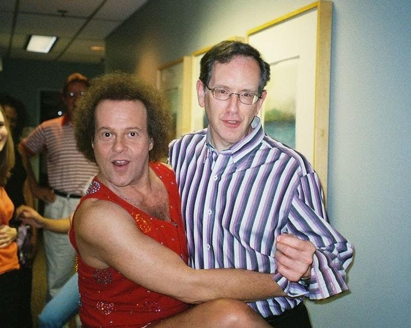 Richard Simmons and Mike Collins
