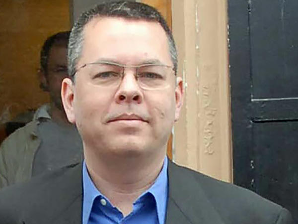 An undated photo shows Andrew Brunson, an American pastor, in Izmir, Turkey. Brunson's trial began Monday on charges of aiding groups said to have orchestrated an attempted coup.
