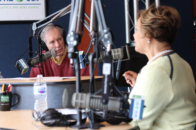 Mike Collins speaks with Charlotte Mayor Vi Lyles in her monthly interview on Charlotte Talks.
