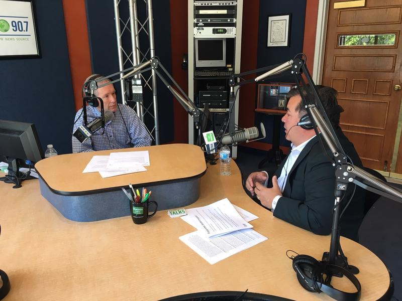 Charlotte-Mecklenburg Schools Superintendent Clayton Wilcox joined Charlotte Talks with Mike Collins.
