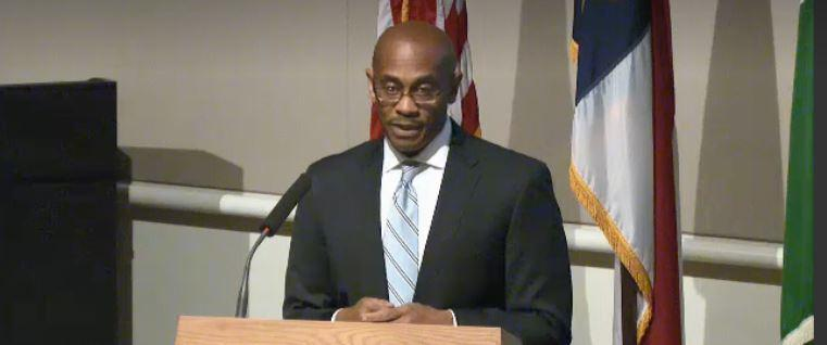 City Manager Marcus Jones presented his budget to the City Council Monday.