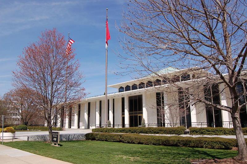 The North Carolina Legislative Building in Raleigh, North Carolina