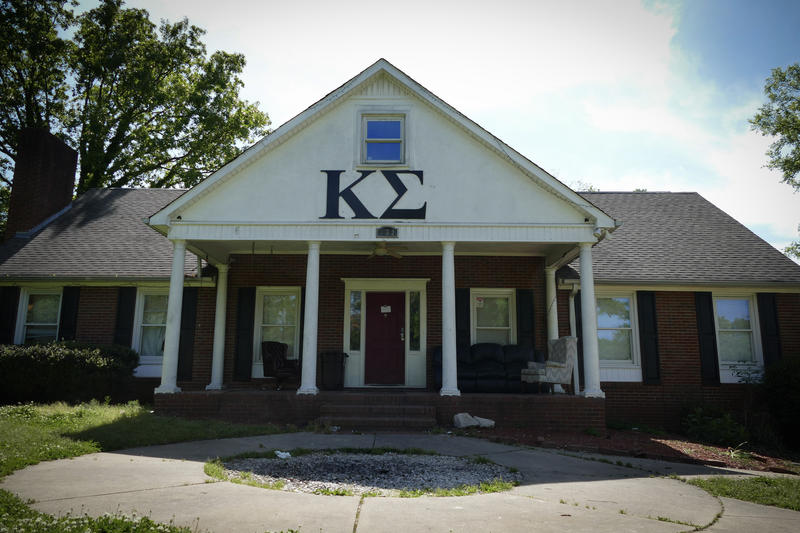 The Kappa Sigma fraternity house near UNC Charlotte.