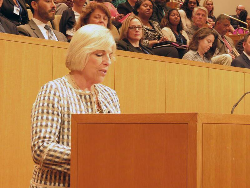 Mecklenburg County Manager Dena Diorio