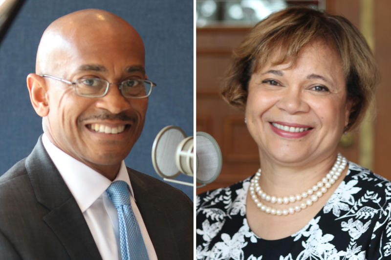 Charlotte City Manager Marcus Jones and Mayor Vi Lyles joined Charlotte Talks with Mike Collins Thursday.