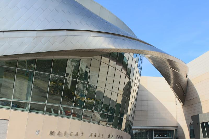 The NASCAR Hall of Fame in Charlotte.