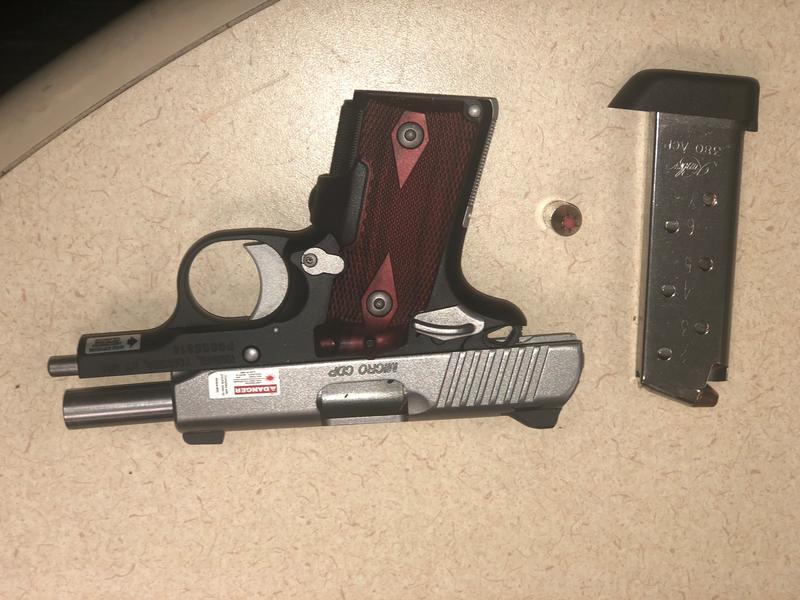 TSA officers discovered a loaded Kimber .380 CDP Micro handgun at Charlotte Douglas International Airport.