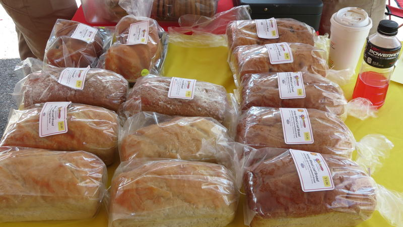 Bread available at the Rosa Parks Farmer's Market for first time this year