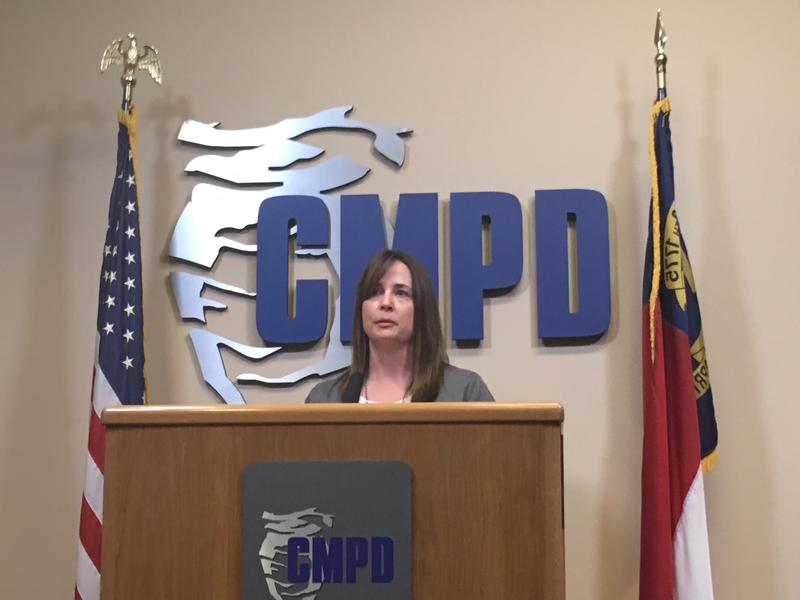 Lt. Melanie Peacock addresses the allegations of a woman who claims she was drugged at a Charlotte bar and was later denied an opportunity to file a report.