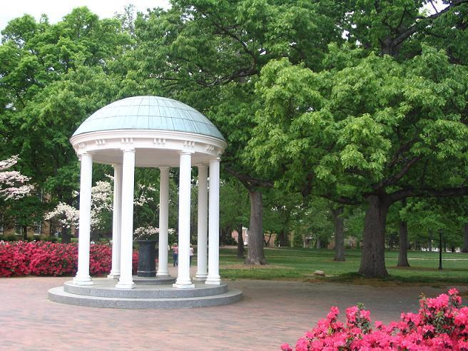 The Old Well at the University of North Carolina at Chapel Hill.