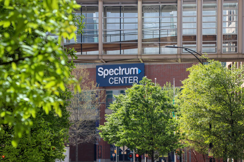 The Republican National Convention will utilize the Spectrum Center in uptown Charlotte.