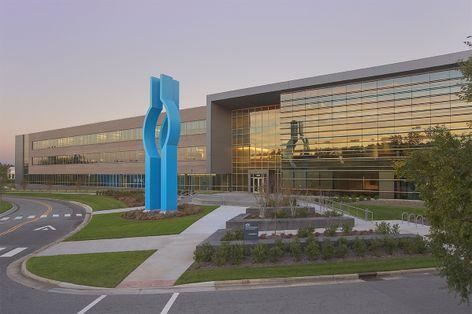 Blue Cross Blue Shield NC headquarters in Durham.
