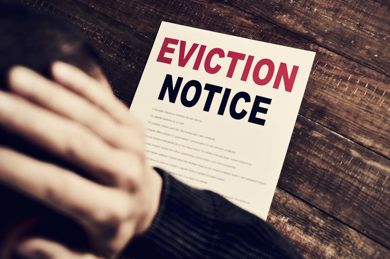 An analysis of court records by UNC Charlotte's Urban Institute found that there are 25 evictions a day in Mecklenburg County.