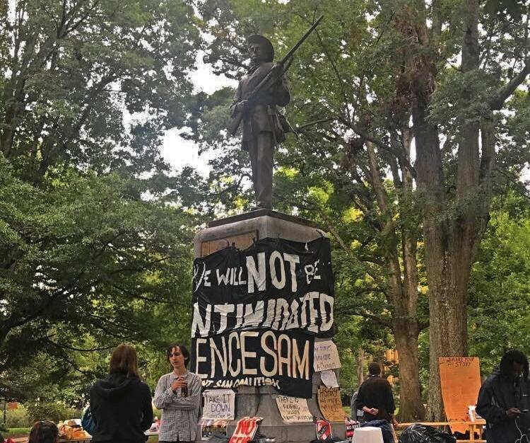 unc chapel hill spent 390 000 on security around silent sam