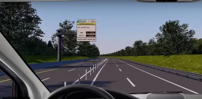 Tolls on the I-77 Express Lanes north of Charlotte will be fixed for the first six months, then fluctuate with traffic volumes after that. An NCDOT video shows what rate signboards will look like.