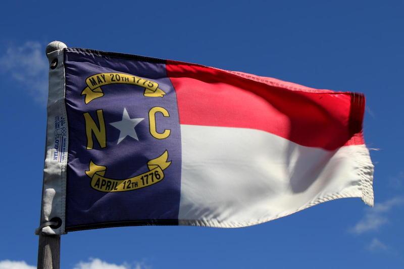 North Carolina state flag.