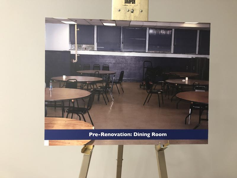 "Photo placed for the ""Renovation Celebration"" Thursday"