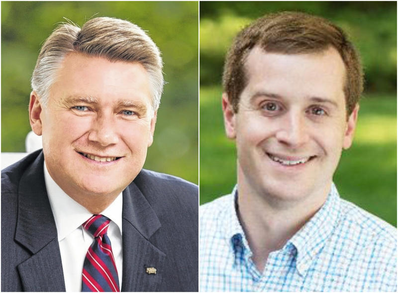 The 9th District congressional race featuring Republican Mark Harris, left, and Democrat Dan McCready could be upended by a new congressional map.
