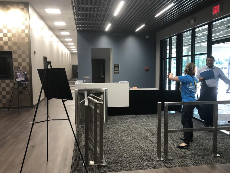The new foyer