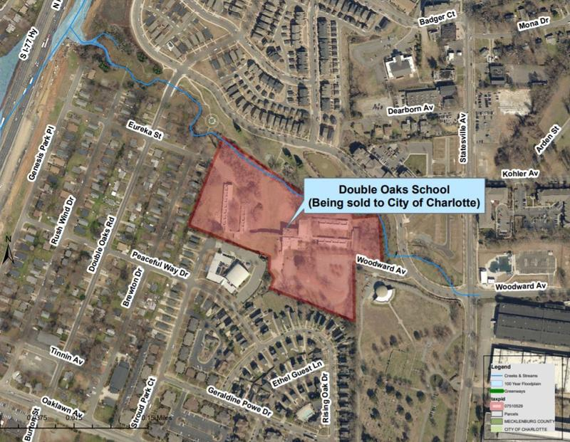 The City of Charlotte also is planning to buy the old Double Oaks Elementary School site off Statesville Road for future affordable housing.