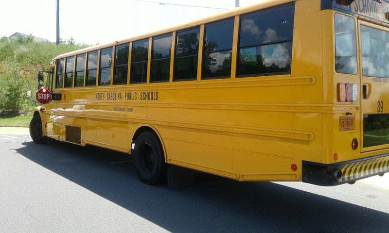 Charlotte-Mecklenburg Schools need 67 bus drivers.