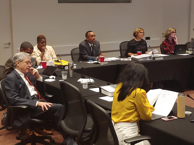 The Charlotte City Council will vote on switching to four-year terms. The council's budget committee agreed to send the issue to the full council.