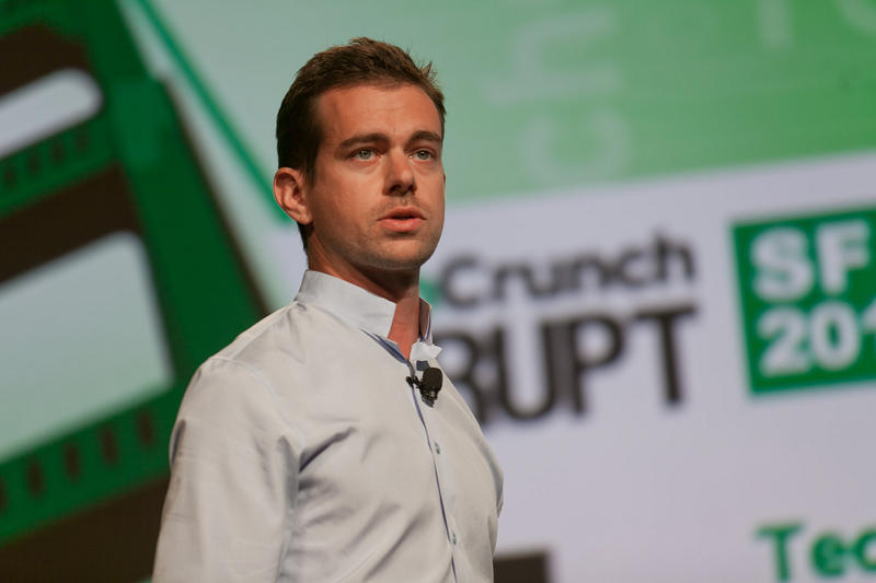 Jack Dorsey, co-founder of Twitter and founder of Square
