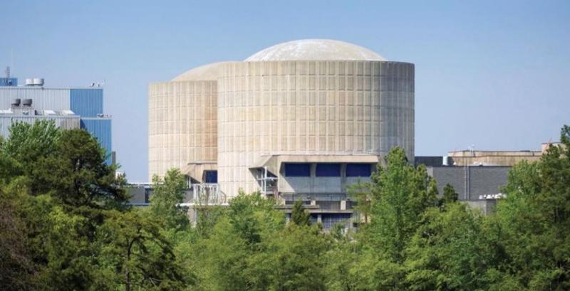 Catawba Nuclear Station, on Lake Wylie.