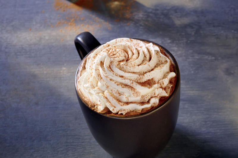 It's pumpkin spice season. This is Starbucks' pumpkin spice latte.