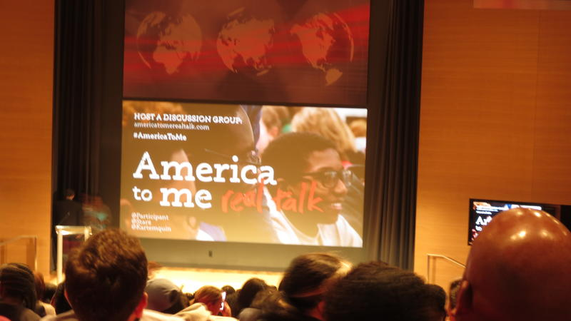 Charlotte screening of America to Me docuseries and panel discussion at One Bank of America Center