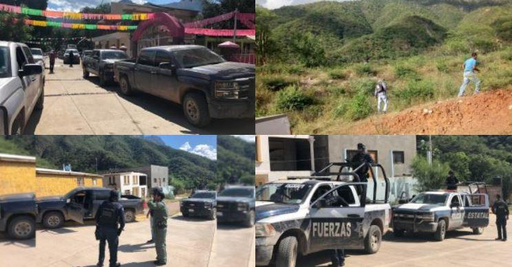 Photos from police in Mexico show scenes from the search for Patrick Braxton-Andrew, 34, of Davidson.