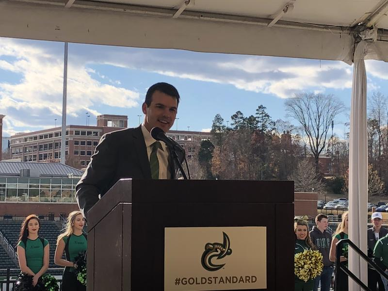Will Healy Introduced As UNC-Charlotte's New Football Coach