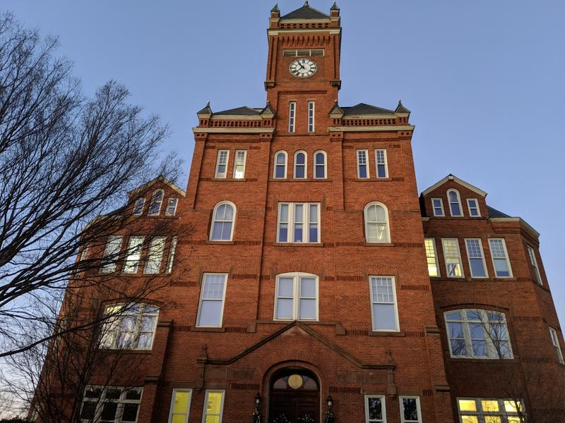 Biddle Memorial Hall at Johnson C. Smith University