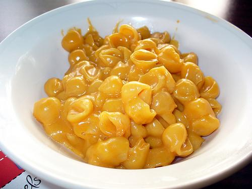 Kraft macaroni and cheese, an American classic.