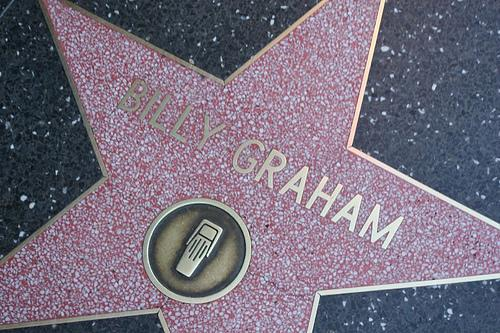 Evangelist Billy Graham was honored by President Richard Nixon on Friday, Oct. 15, 1971 in Charlotte, North Carolina. Today, he has a plaque on the north side of the 6900 block of Hollywood Boulevard in Los Angeles.