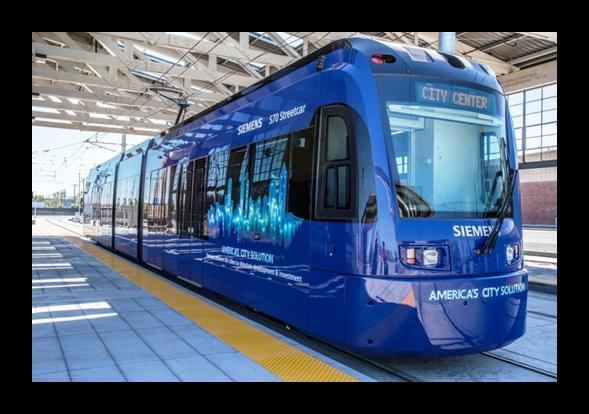This is a similar vehicle to the proposed Charlotte streetcar.