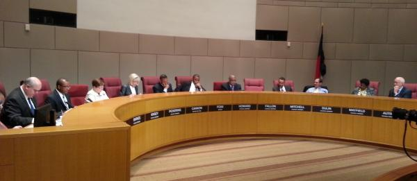 Charlotte City Council approved a 3.17 cent tax increase on a vote of 8 to 2.