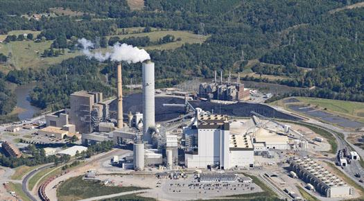 Duke Energy recently completed a new coal unit at its Cliffside Steam Station in Cleveland and Rutherford Counties.