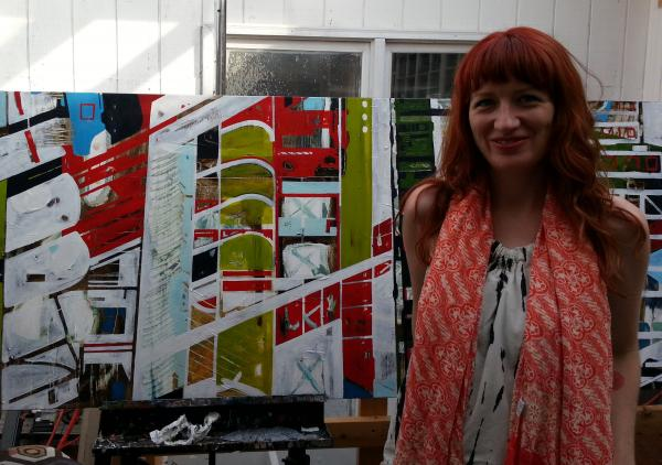Charlotte artist Sharon Dowell is one of nine participating in the new Community Supported Art program where people can buy a 'share' and get surprise boxes of original art.