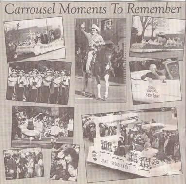 The Carolinas' Carousel Parade solicited stories and memories of the parade when it announced on Friday that the parade would be cancelled this year.