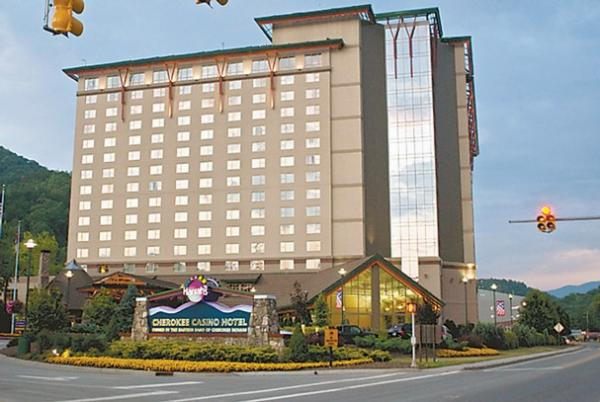 The NC GOP will hold its 2014 state convention at Harrah's Cherokee, which is operated by the Eastern Band of Cherokees. The tribe is a major donor to political campaigns in the state.