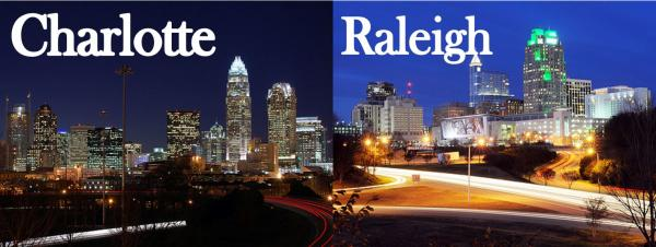 The relationship between Charlotte and Raleigh is like one of two squabbling siblings.