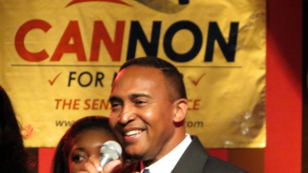 Patrick Cannon is the new mayor of Charlotte with 53 percent of the vote.