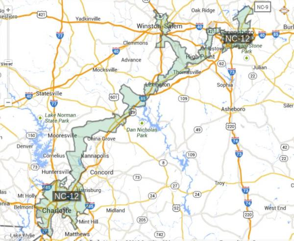 The 12th Congressional District was redrawn in 2011. A special election cannot be announced until Mel Watt (NC-12) formally resigns from his position.