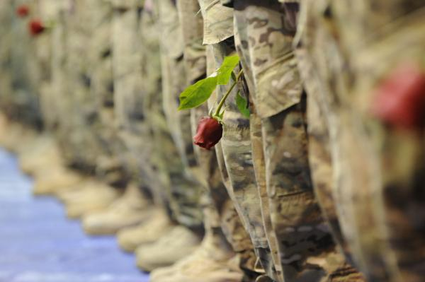 4th Brigade Combat Team (Airborne) homecoming,  Oct. 6, 2012.