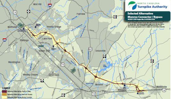 Nc Transportation Department To Resume Work On Monroe