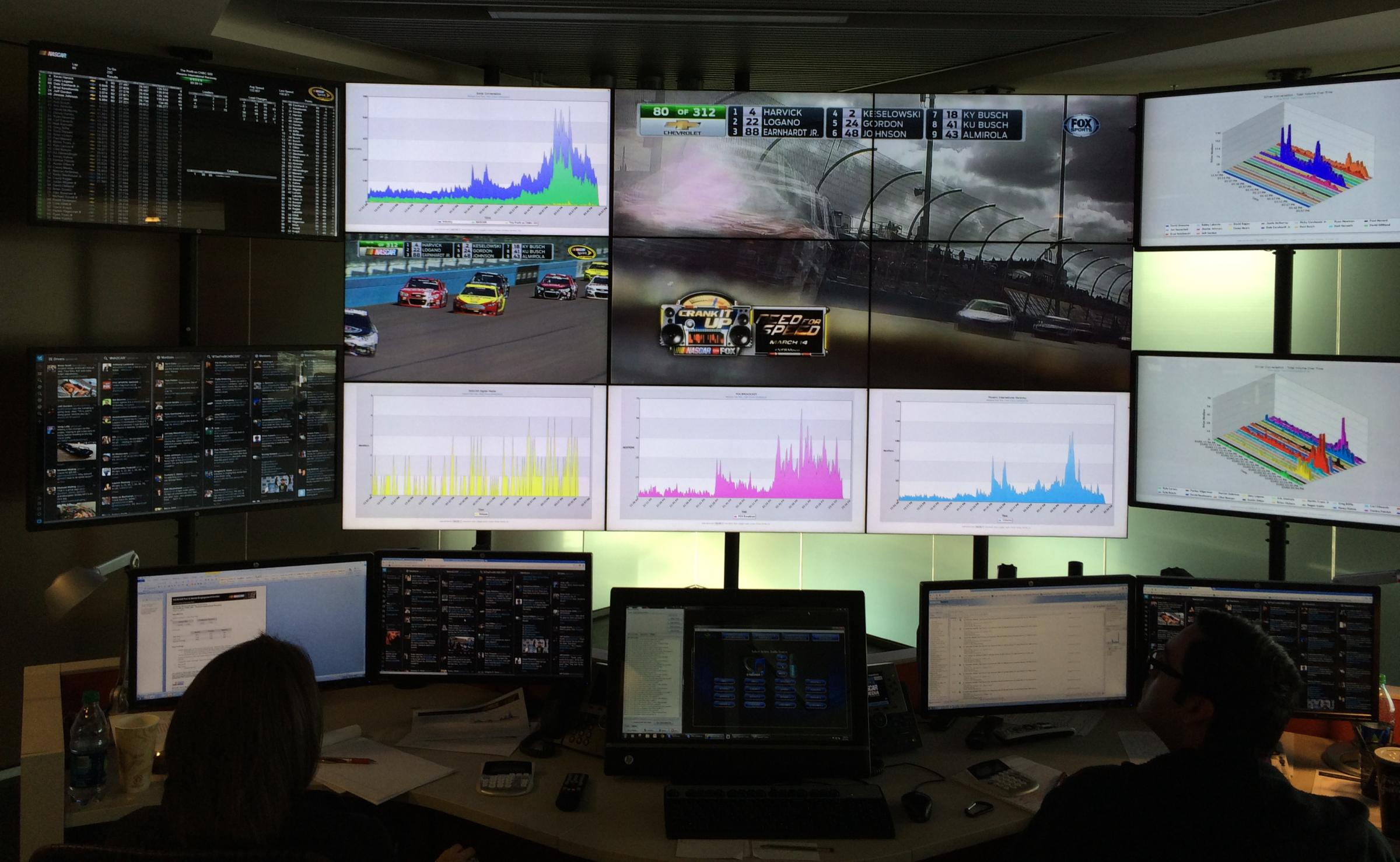 Blick ins NASCAR Fan and Media Engagement Center